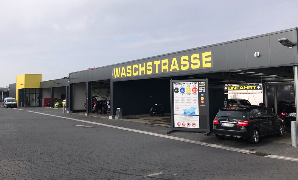 SB-Waschanlage