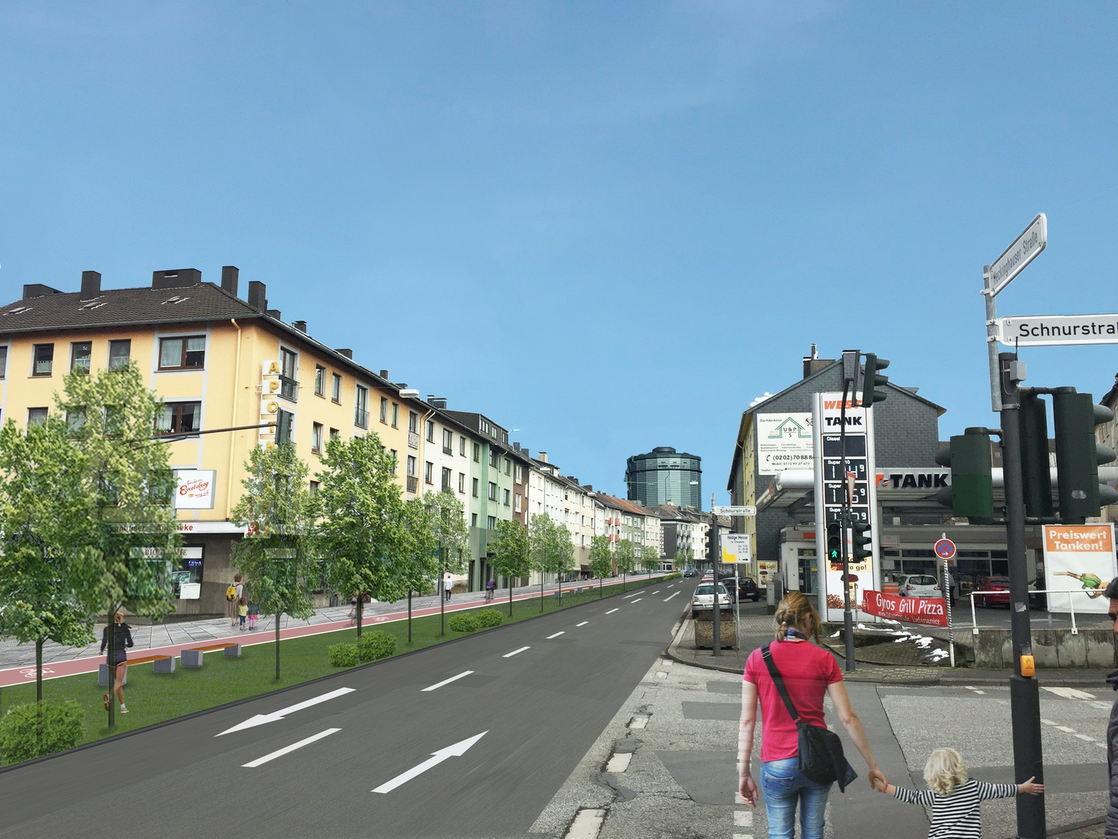 Bürgerforum Konzept Grüne Ader Wuppertal
